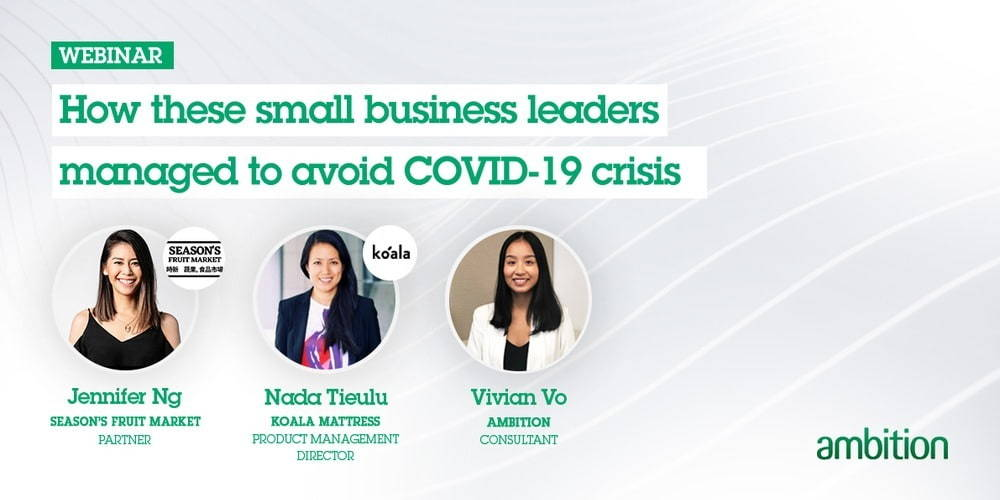 Small business leaders avoid COVID