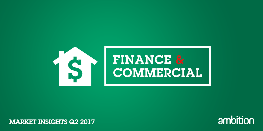 Finance and Commercial Market Insights Quarter 2, 2017